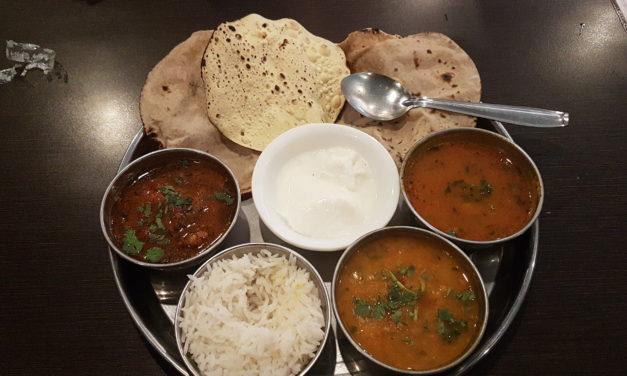 La nourriture au Népal et en Inde